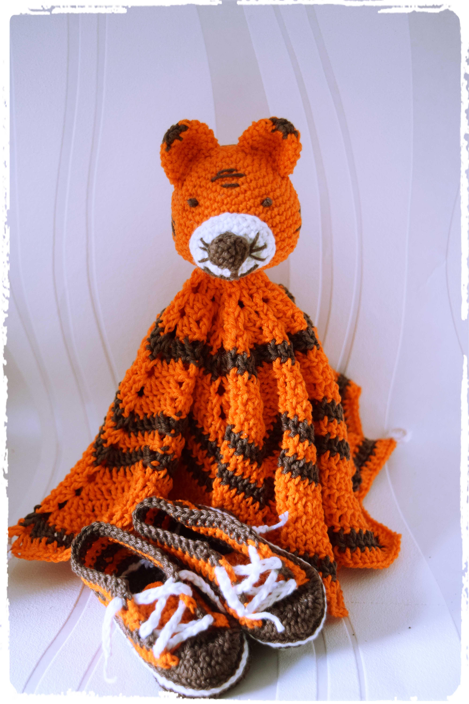 Tiger-Schmusetuch