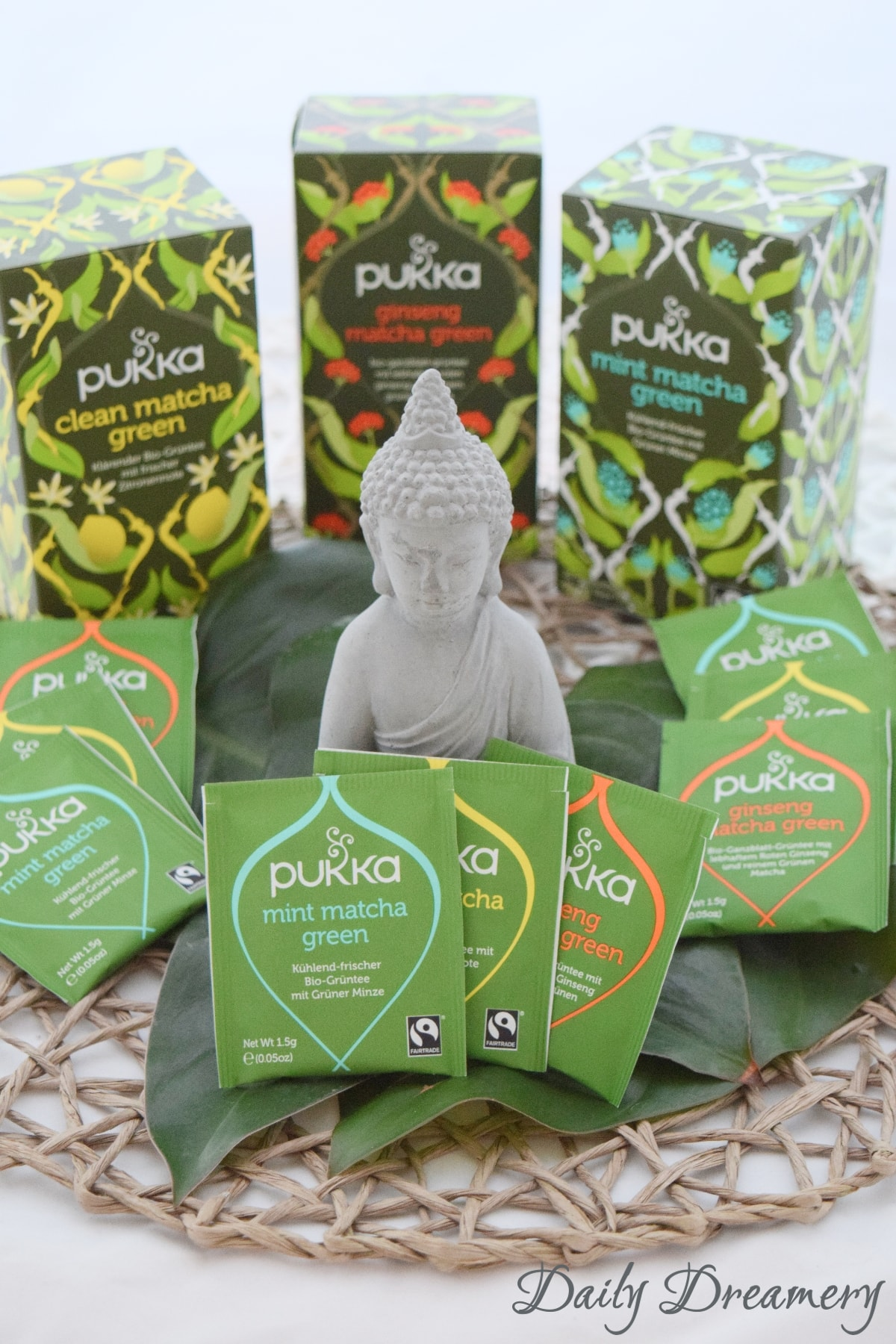 Matchamoment grüner Tee PUKKA