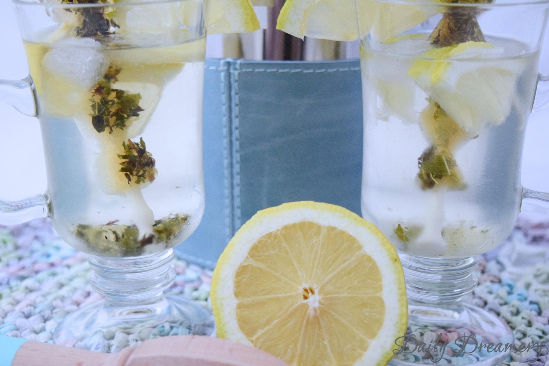 Eistee, Tea-Infused Water