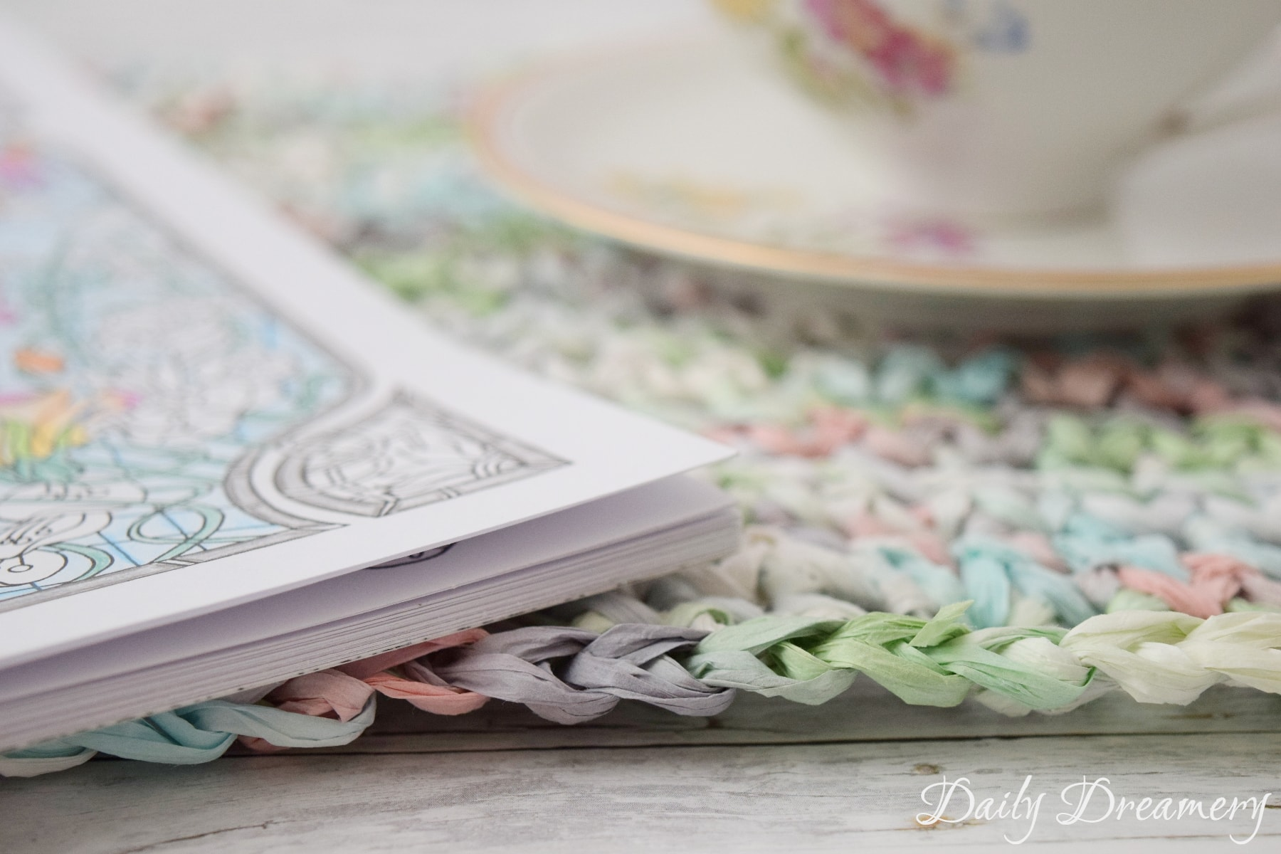 Tischsets aus Papiergarn häkeln