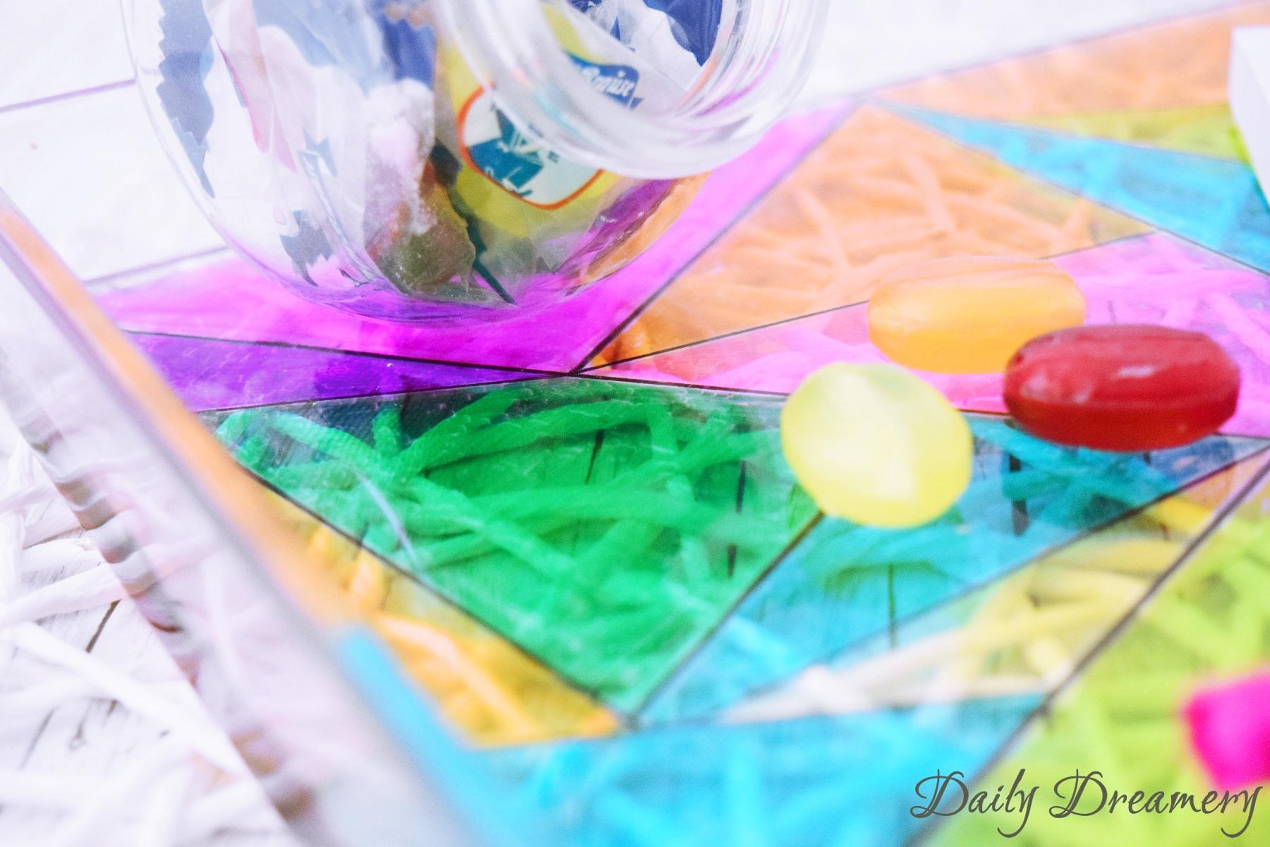 Glasmalerei mit Permanentmarkern Sharpie