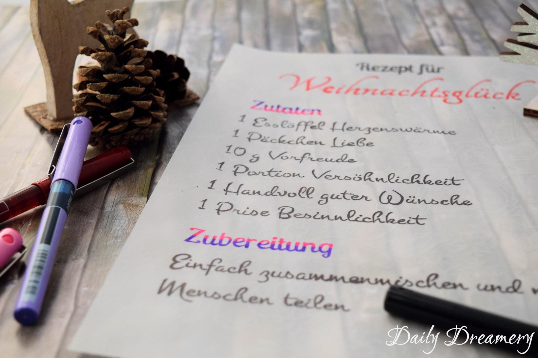 Mein Rezept für frohe Weihnachten [Anzeige] – Daily Dreamery