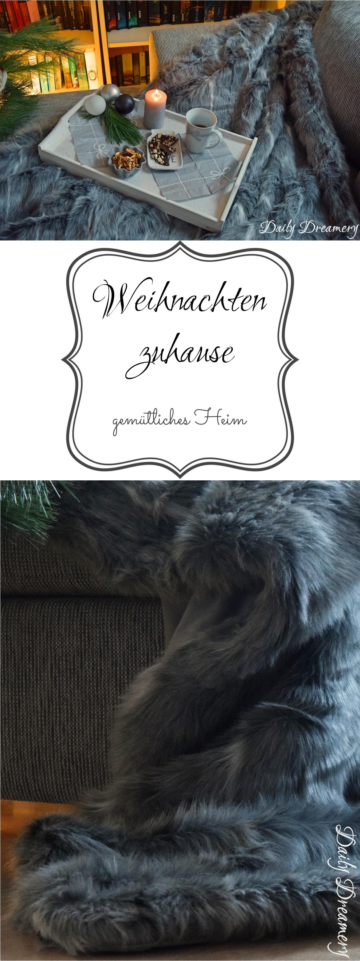 Weihnachten zu Hause - gemütliches Heim