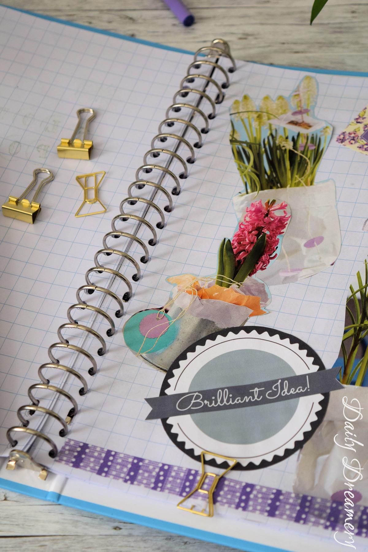 Moodbook Sammelalbum für Ideen aus Magazinen und Zeitschriften