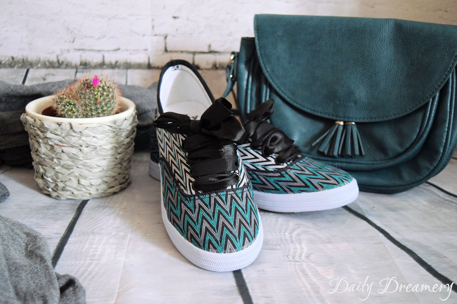 Gut gemocht Stylische Stoff-Sneaker - ganz leicht selbermachen – Daily Dreamery RC87