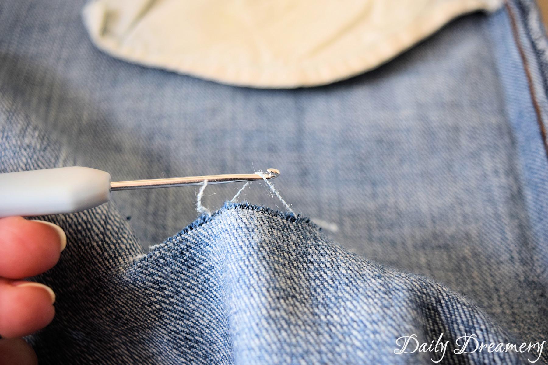 Etwas Neues genug Sommertrend Ripped Jeans - ganz easy selbermachen – Daily Dreamery &SU_03