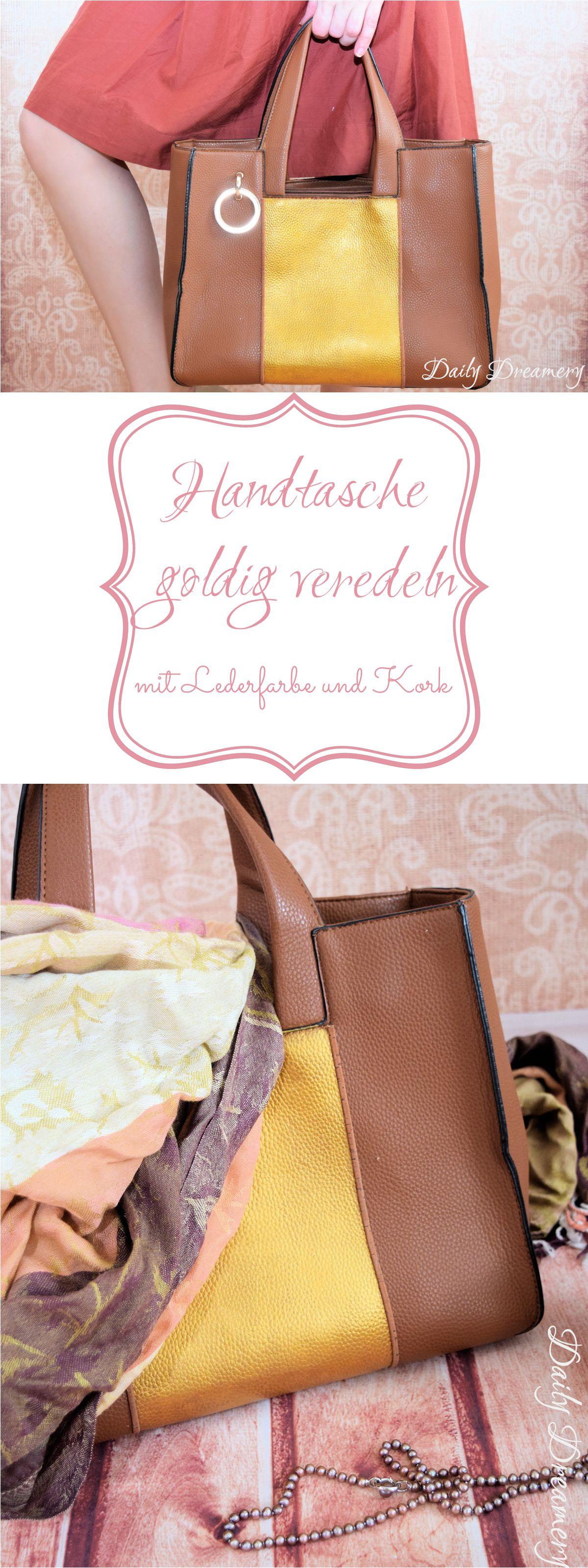 Leder-Tasche bemalen - für deinen individuellen Eyecatcher