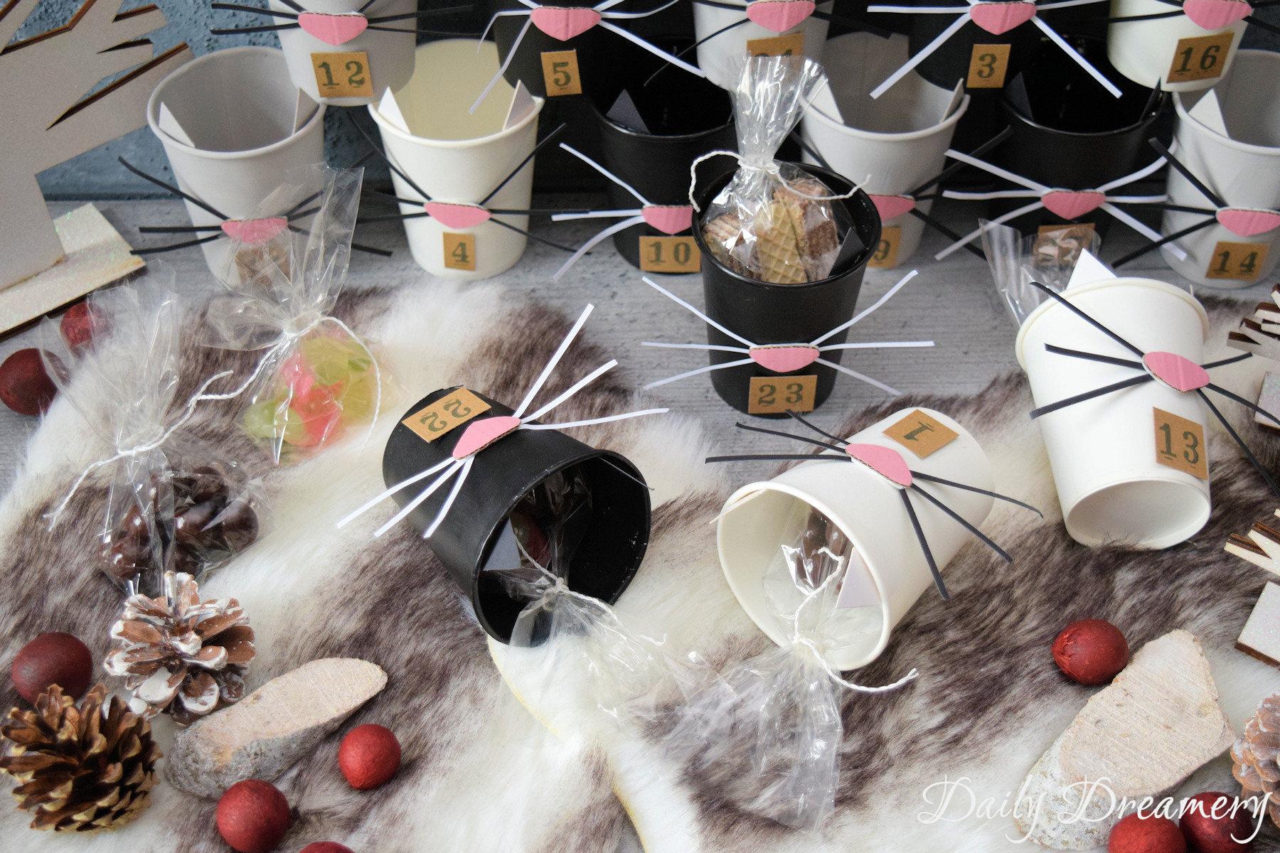 oberniedlicher DIY Katzen-Adventskalender - nicht nur für Katzenfans #diy #adventskalender #katze
