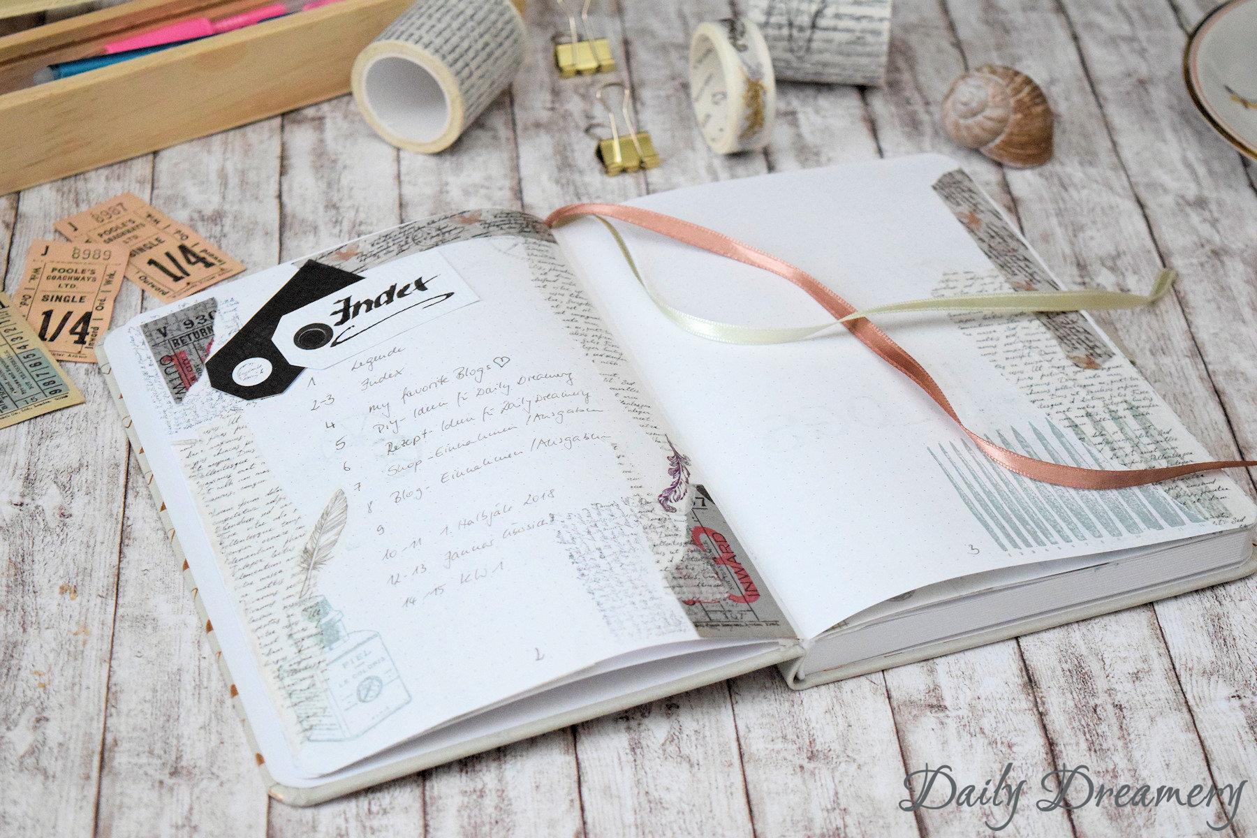 kreative Ideen für dein Bullet Journal - mach dir schöne Pläne!