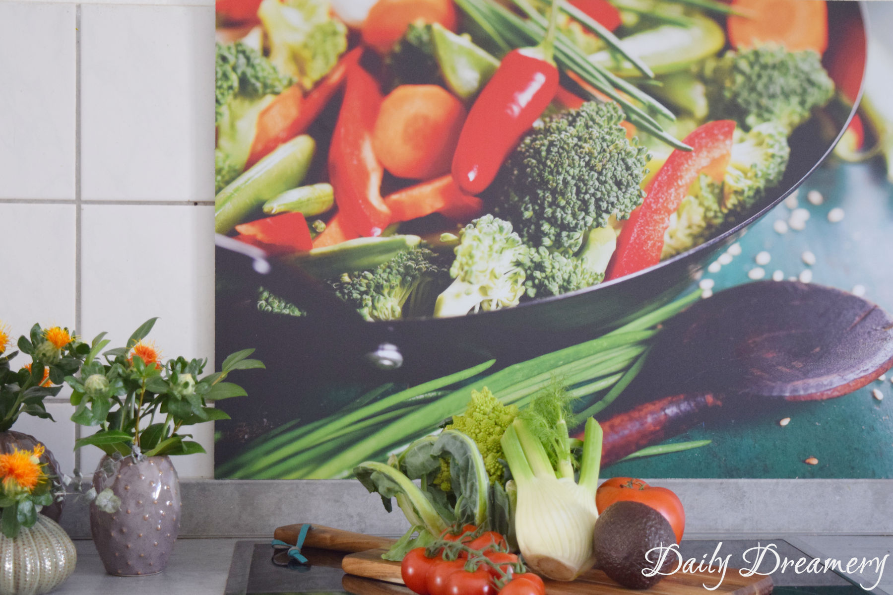 das optische Highlight für deine Küche - eine Küchenrückwand mit Fotomotiv #küche #kitchen #wohnen