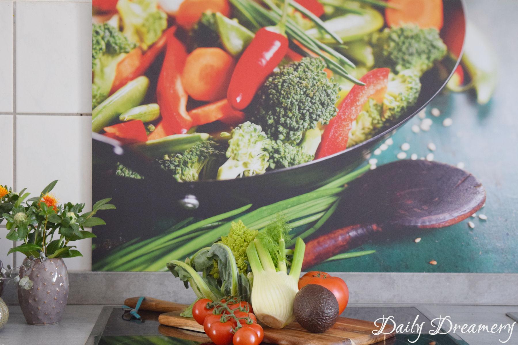 Ein praktisches und dekoratives Highlight für die Küche ...
