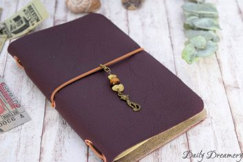 Planner-Charm Dekoration für Traveler-Notebooks