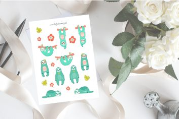 Sticker, pefekt für Bulletjournaling und Scrapbooking #scrapbooking #sticker #planning
