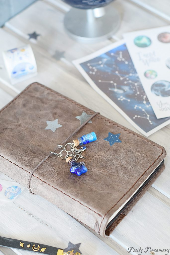 DIY Planercharm Galaxie Galaxy Bottle #diy #tn #plannercharms #tn